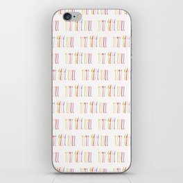 Spoon, Fork and Knife Vector Cutlery iPhone Skin
