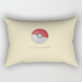 Ceci n'est pas Rectangular Pillow