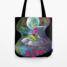 Space Girl 01 Tote Bag