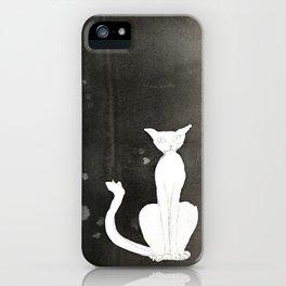 Cat 5 iPhone Case