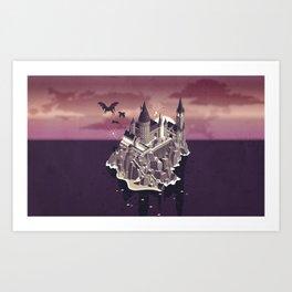 Hogwarts series (year 5: the Order of the Phoenix) Art Print