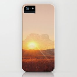Western America Landscpe iPhone Case