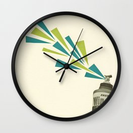 I Thought it was Hairspray Wall Clock