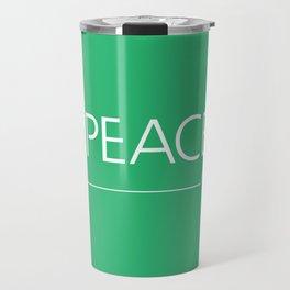 Peace Travel Mug