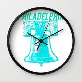 Philadelphia Liberty Bell American Independence Wall Clock