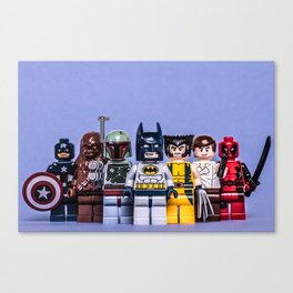 Lego Awesomeness Canvas Print