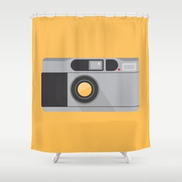 Camera Series: Contax T2 Shower Curtain