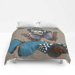 BUTTER BB burlap Comforters