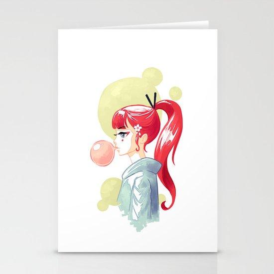 Bubblegum Stationery Cards