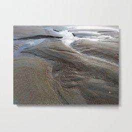 Sand Craters Metal Print