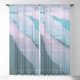 Sunrise Beauty #1 #wall #decor #art #society6 Sheer Curtain
