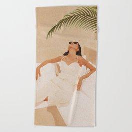 Summer Heat Beach Towel