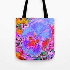 Floral mosaic(1). Tote Bag