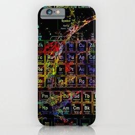Periodic Table RGB iPhone Case
