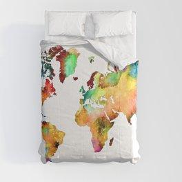 world map 71 Comforters