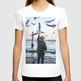 Old Sea Sunset T-shirt