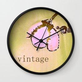 Vintage Lamp Wall Clock