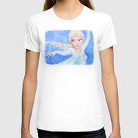 elsa T-shirts featuring Elsa by enerjax