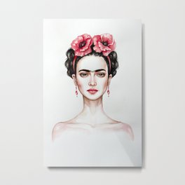 Frieda Metal Print