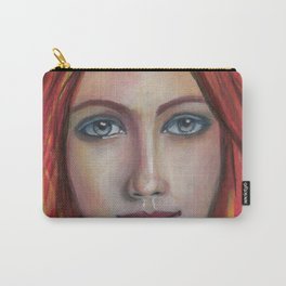 She speaks without voice Carry-All Pouch
