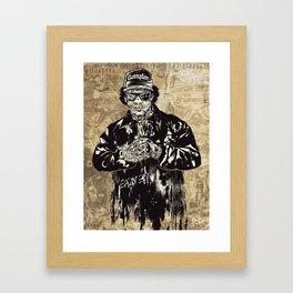 ZombEazy Framed Art Print