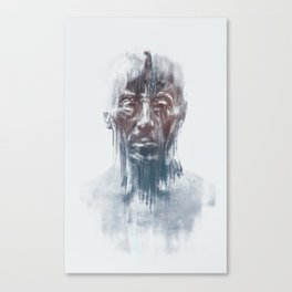 Portret 008 Canvas Print