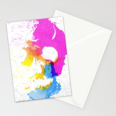 Skull Pop  Stationery Cards