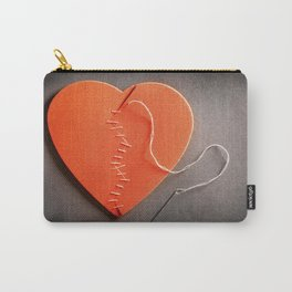 Mending A Broken Heart Carry-All Pouch