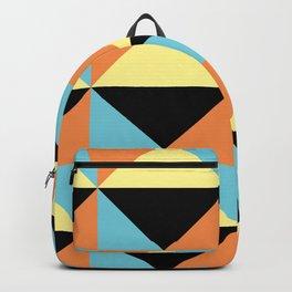Electric Boho Tribal Backpack