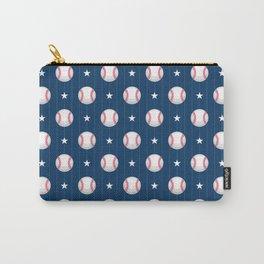 Baseball Pattern | Catcher Home-Run Team Pitcher Carry-All Pouch