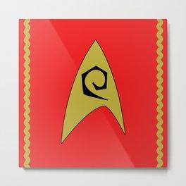 Star Trek - Uhura Metal Print