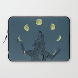 Moon Juggler Laptop Sleeve