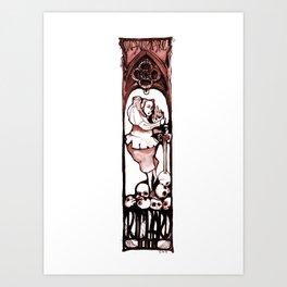 Richard III - Shakespeare Illustration Art Print