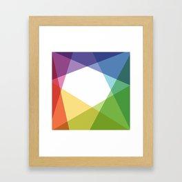 Fig. 004 Colorful Shapes Framed Art Print