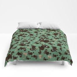 Shy european mink pattern Comforters