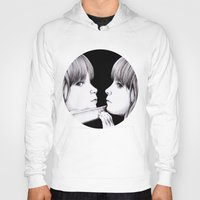 mirror Hoodies featuring MIRROR by Dianah B
