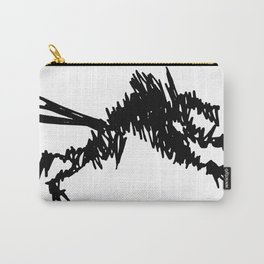 Big Black Wolf Carry-All Pouch