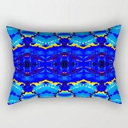 """""""Le froid, le bleu et le ciel"""" Rectangular Pillow"""