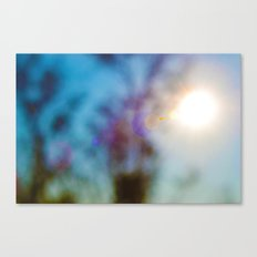Sun's Blur Canvas Print