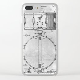Snare drum Clear iPhone Case