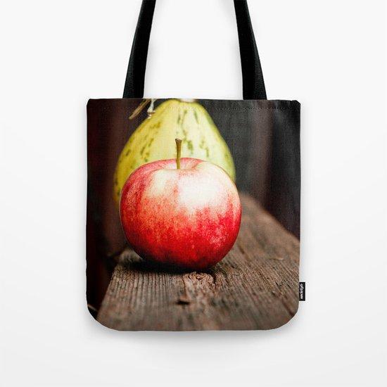 Autum Apple Tote Bag