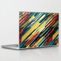 sweater Laptop & iPad Skins featuring 80's Sweater by Jacqueline Maldonado