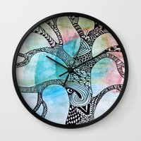 twilight Wall Clocks featuring Twilight by neena