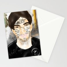 The Word you Never Say (Giannis). Stationery Cards