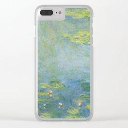 Monet Waterlilies, 1906 Clear iPhone Case