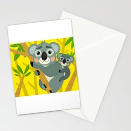 Koala Bears Stationery Cards