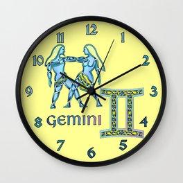 Gemini Knot Wall Clock