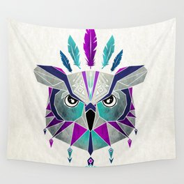 owl king Wall Tapestry