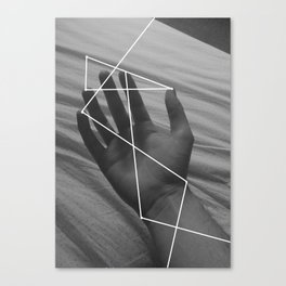 I Don't Think About It Too Much Canvas Print