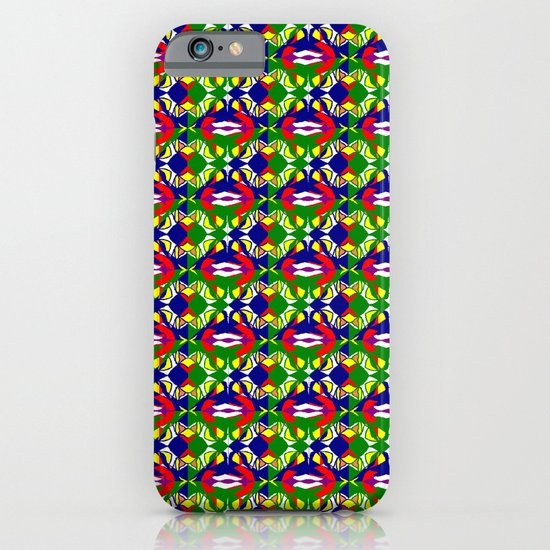 Blue Green Tile iPhone & iPod Case
